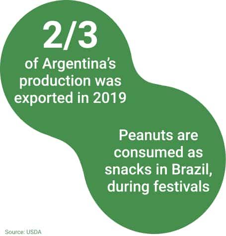 Consumption Argentina & Brazil