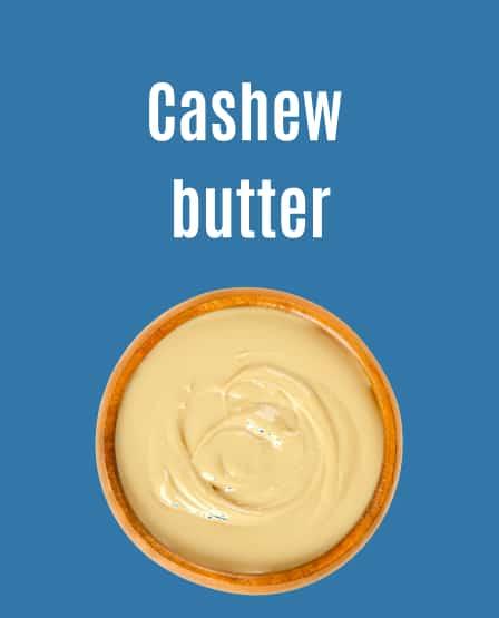 Large format cashew butter