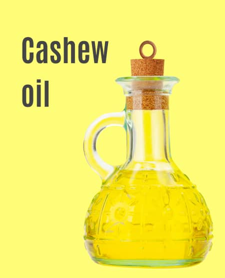 Large format cashew oil