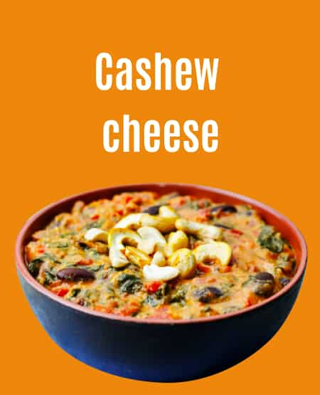Large format Cashew spread cheese